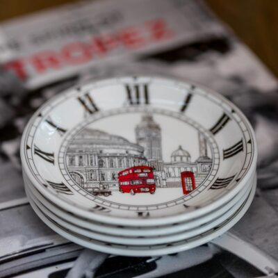 london 4 coasters by Halcyon days