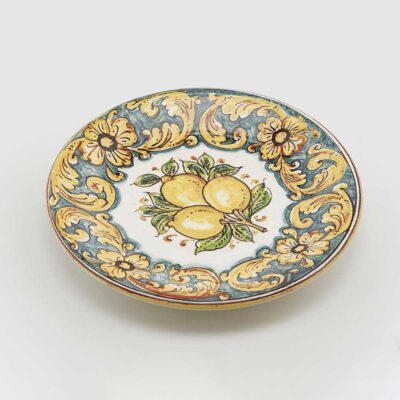 Sicilian Lemon Decorative Plate
