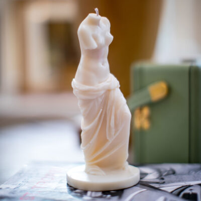 Venus statue candle by Sainte