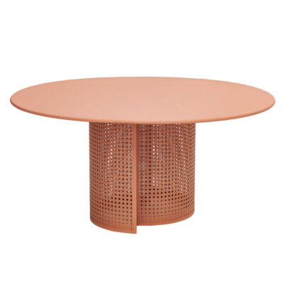 Arena outdoor coffee table orange by Isimar