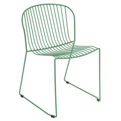 Bolonia outdoor dining Chair green by Isimar