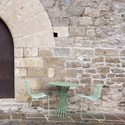 Bolonia Dining table green by Isimar