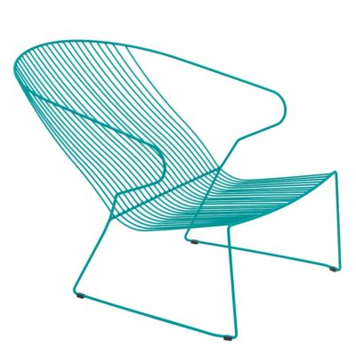 Bolonia outdoor Lounge chair Blue by Isimar