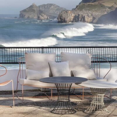 Bolonia outdoor sofa by Isimar