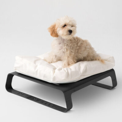 Montreal black dog cat bed by Weelywally