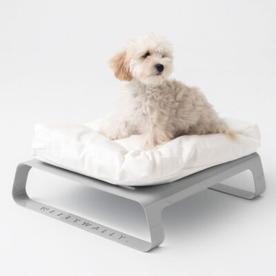 Montreal grey dog cat bed by Weelywally