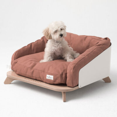 Odense red dog cat bed by Weelywally
