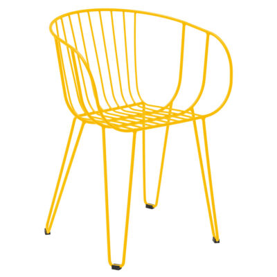 Olivo outdoor yellow Armchair by Isimar
