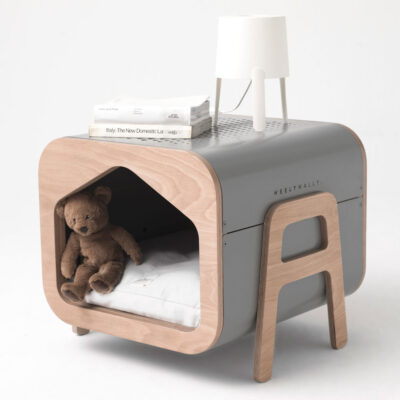 Oslo grey dog cat house by Weelywally