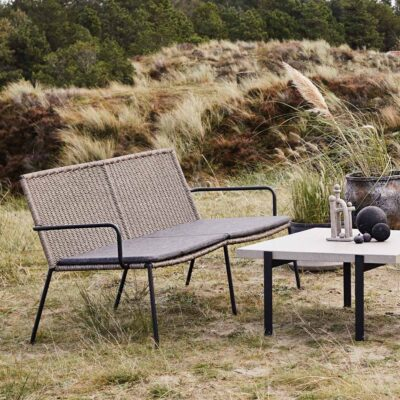 Riva outdoor 2 seater sofa by Muubs