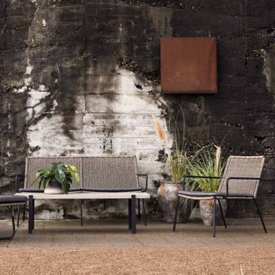 Riva outdoor lounge chair by Muubs