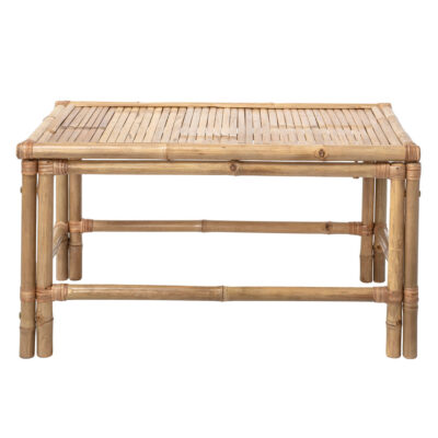 Sole outdoor coffee table nature bamboo by Bloomingville