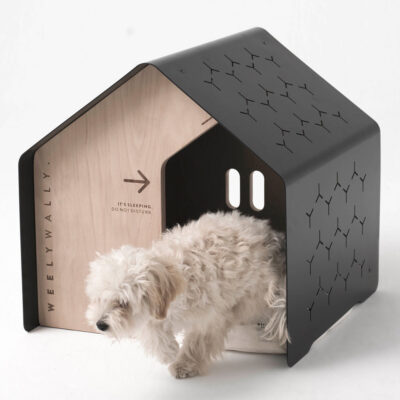 Sydney black dog cat house by Weelywally