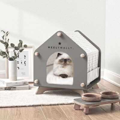 Volendam grey dog cat house by Weelywally