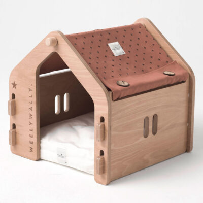 Wien Salmon dog cat house by Weelywally