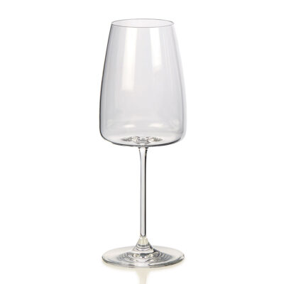 Cortona set of 6 white wine clear glasses by IVV