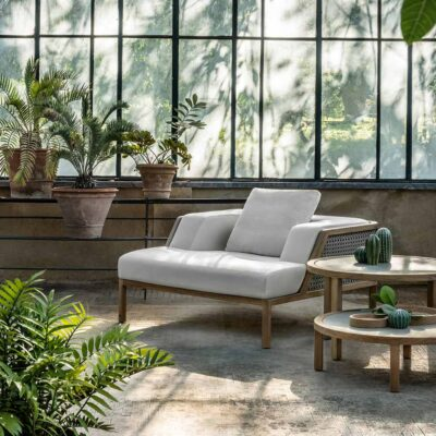 Grand life outdoor armchair by Ethimo